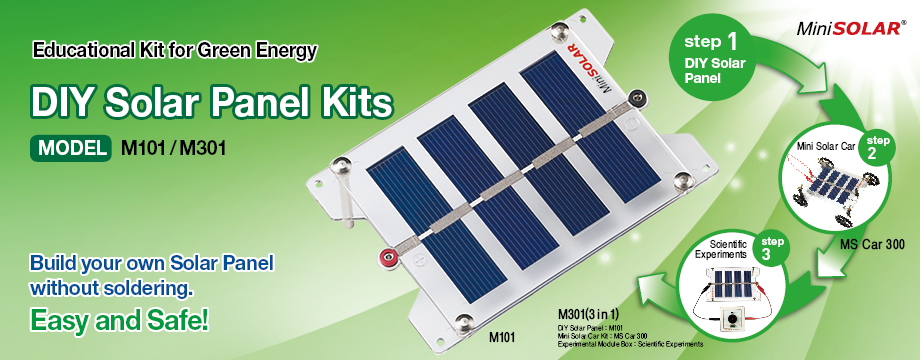 MiniSolar DIY Solar Panel Kit