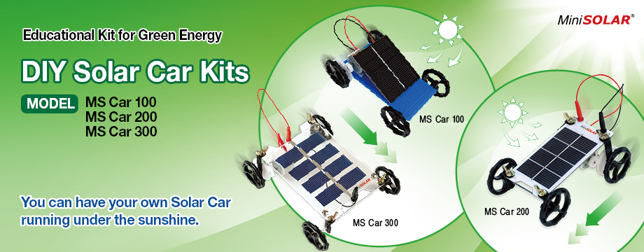 MiniSolar Solar Car Kit