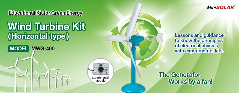 MiniSolar Wind Power Turbine Kit