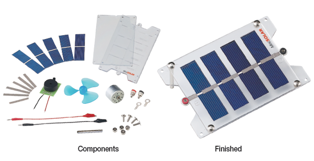 DIY Solar Panel Kit and Car by MiniSolar
